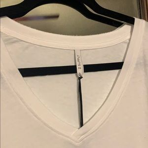 NWT Z Supply white tee